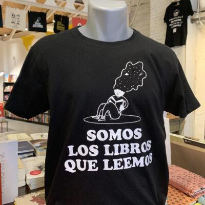 Camiseta Somos los libros que leemos